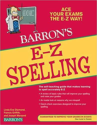 Capa do livro para aprender inglês E-Z Spelling