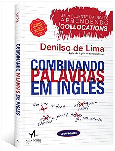 """Capa do livro """"Combinando palavras em inglês"""""""