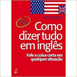 """capa do livro para aprender inglês """"Como dizer tudo em inglês"""""""