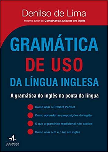 "Capa do livro ""Gramática de uso da Língua Inglesa"""