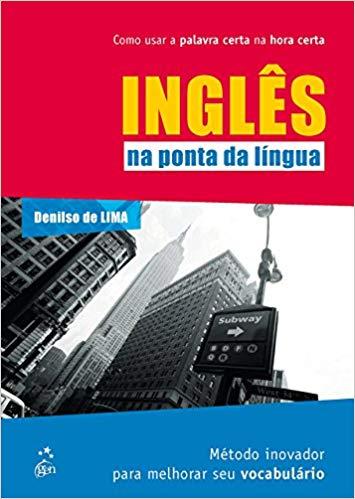 "Capa do livro ""Inglês na Ponta da Língua"""