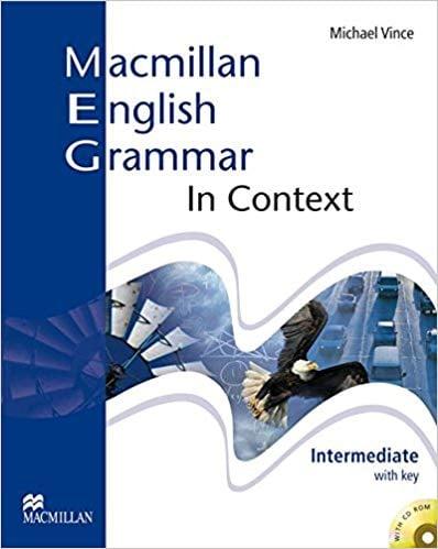 """Capa do livro """"Macmillan English Grammar in Context"""""""