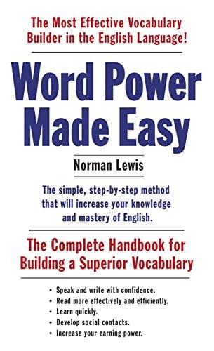 """Capa do livro """"Word Power Made Easy"""""""