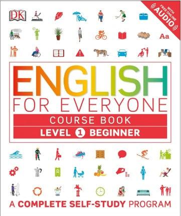 """Capa do livro para aprender inglês """"English Everyone"""""""