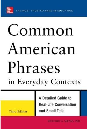 "Capa do livro ""Common American Phrases"""