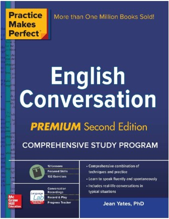 "Capa do livro ""English Conversation"""