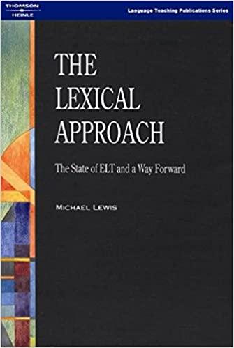 Capa do Livro - The Lexical Approach
